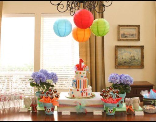 1 Yaş Doğum Günü Partisi İçin Öneriler