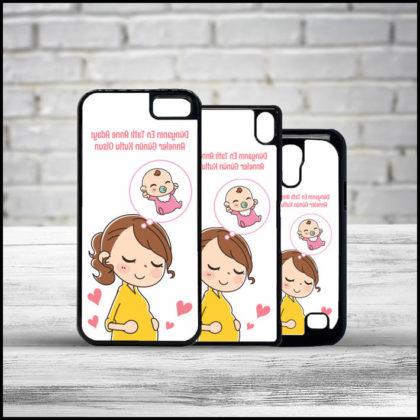 Anne Adaylarına Anneler Günü Hediyesi Telefon Kapağı