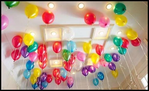 Doğum Günü Oda Süsleme Örnekleri 2019