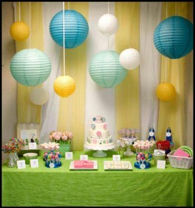 Bebeğinizin Doğum Günü Partisi İçin Ev Süsleme Önerileri