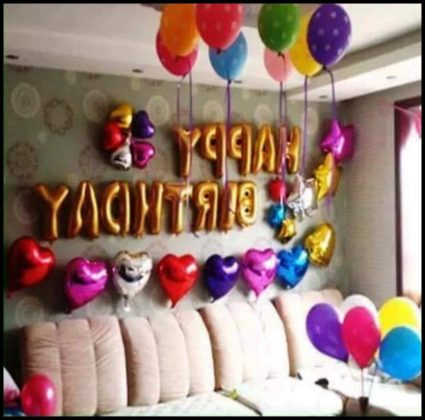 Doğum Günü Partisi İçin Ev Süsleme Önerileri
